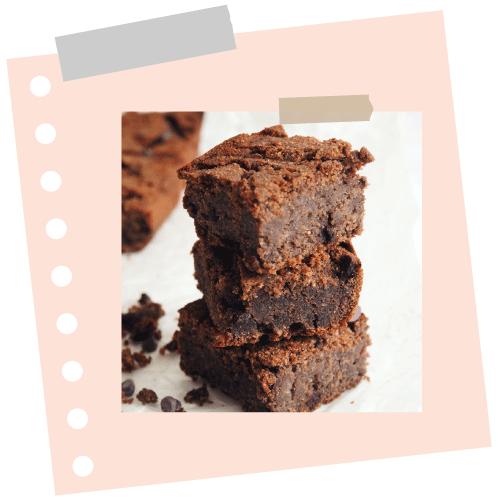 Brownies à l'huile de noix